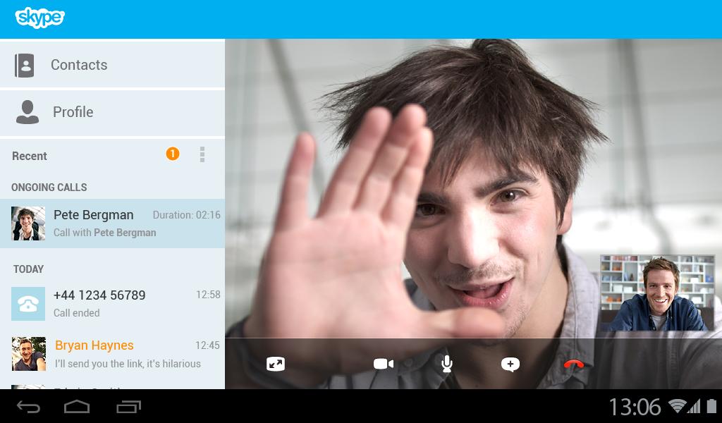 60 минут Skype в Microsoft Office 365