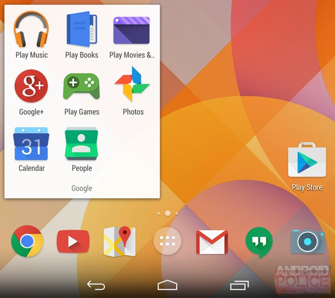 Новые иконки Android 4.5