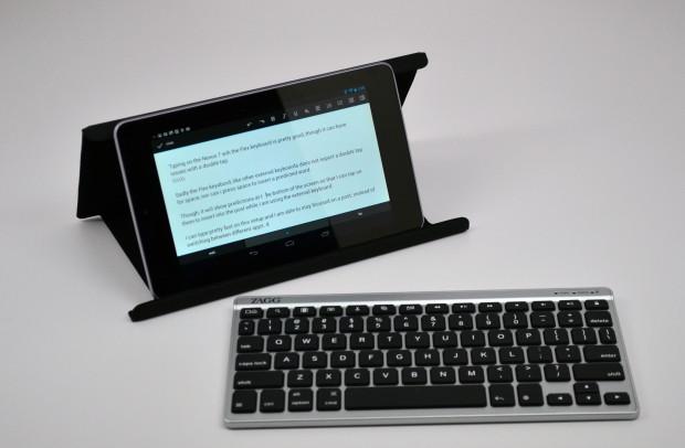 Клавиатура для Nexus 7 от Zagg