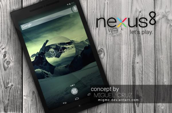 Концепция Nexus 8