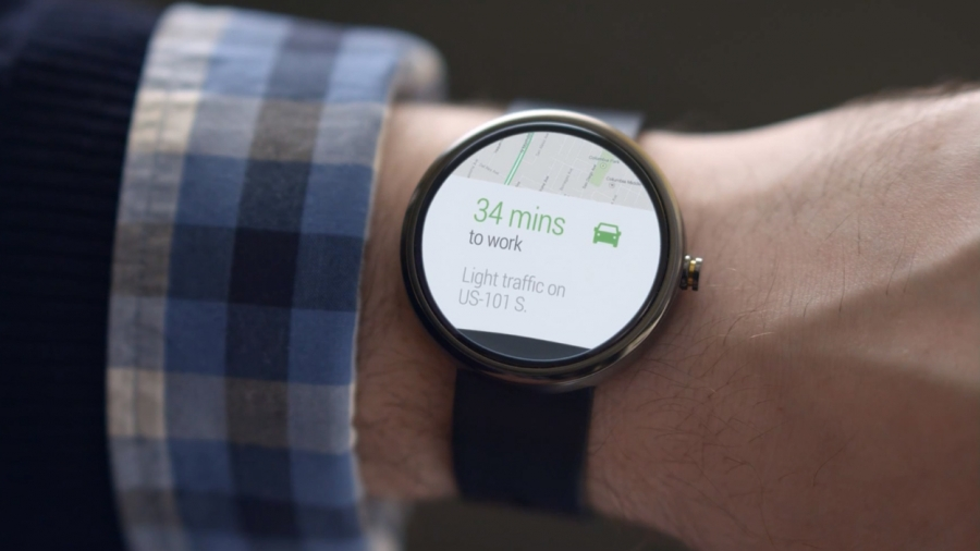 Часы Moto 360 с Android Wear