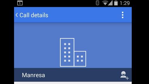 Дозвон Android 5