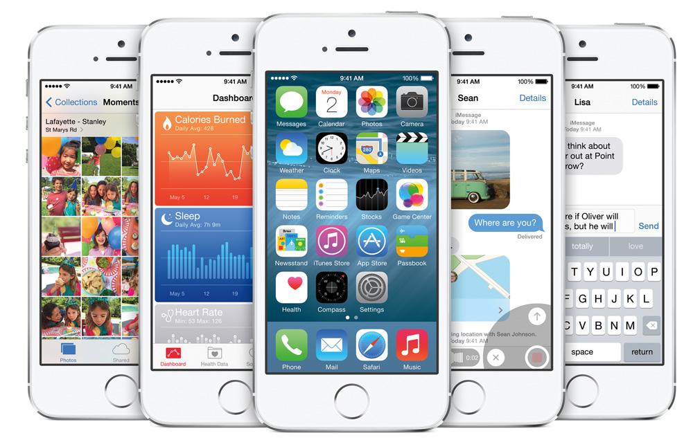 iOS 8 на iPhone
