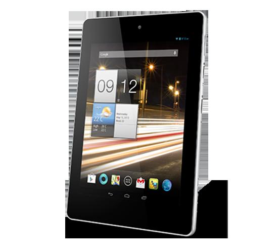 Бюджетный планшет Acer Iconia A1
