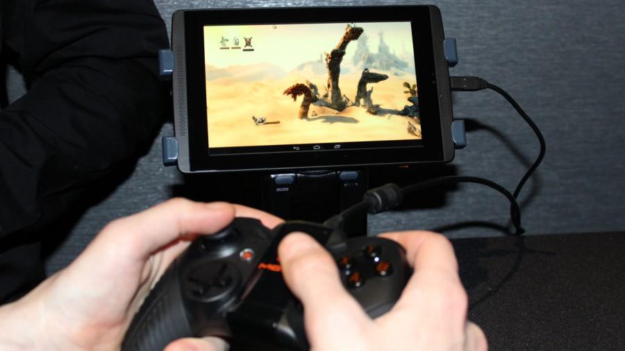 Nvidia Tegra K1 с контроллерами Nyko