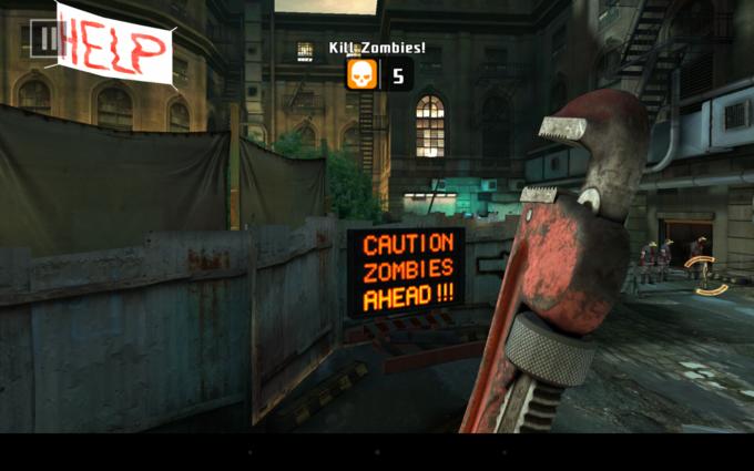 Dead Trigger 2 на Nexus 7