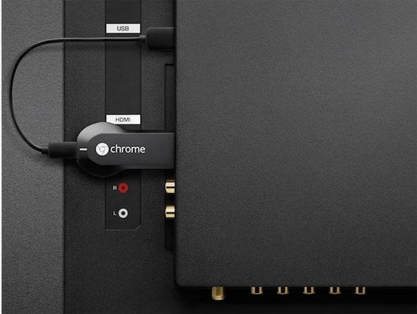 Chromecast, чтобы подключить планшет к телевизору