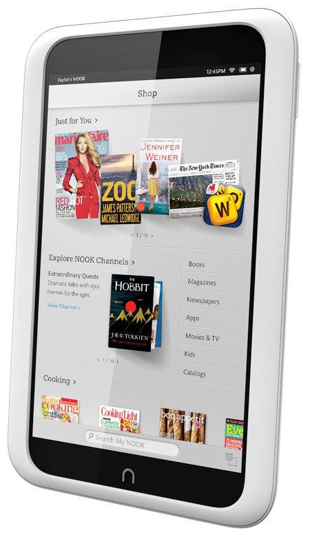 Бюджетный планшет Nook HD