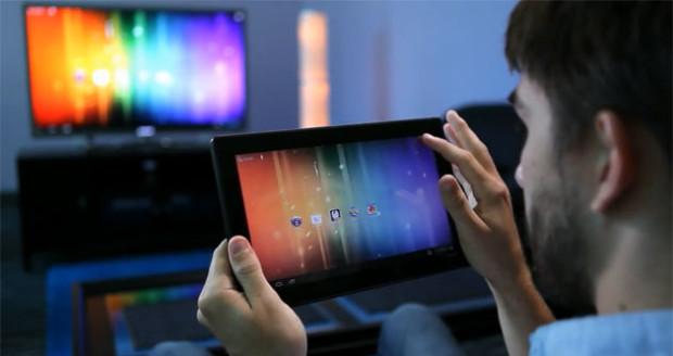 Как подключить планшет к телевизору?