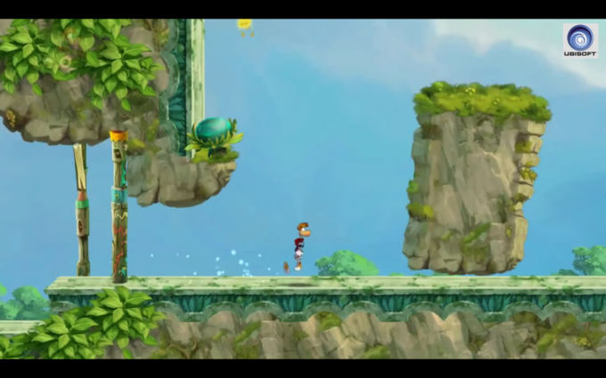 Rayman Jungle Run на Nexus 7