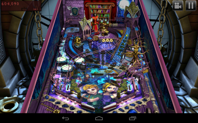 Zen Pinball HD на Nexus 7