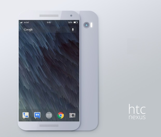 Новый концепт планшета HTC Nexus 9
