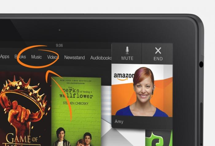 MayDay на Amazon Kindle Fire HDX 8.9