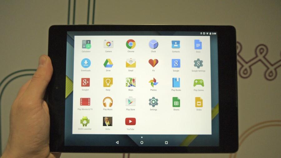 Google Nexus 9 и Android 5