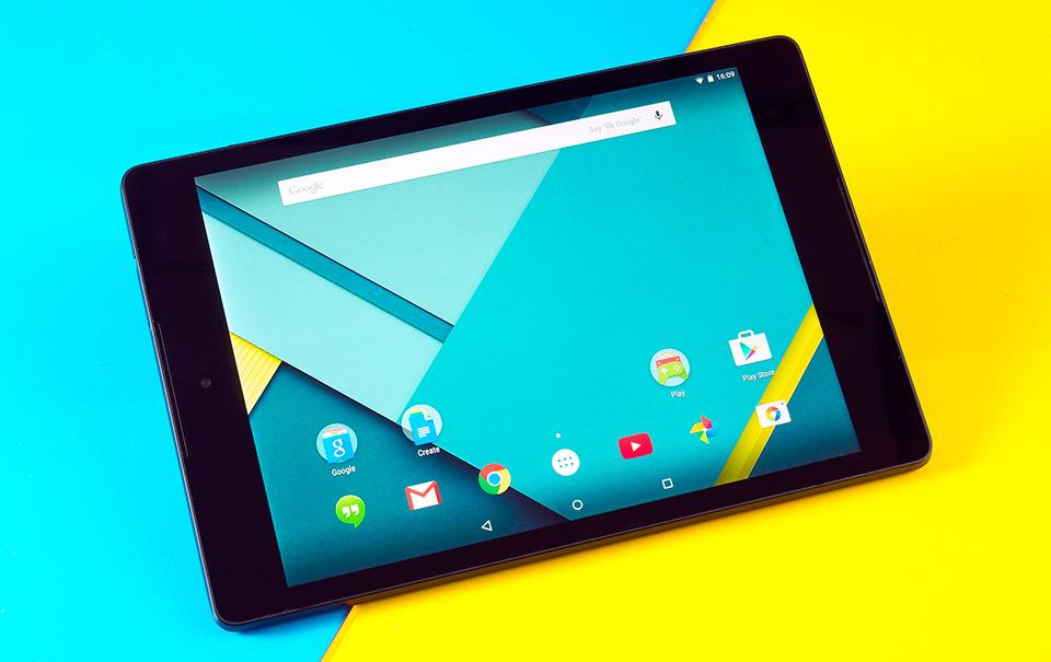 Большой планшет - Google Nexus 9