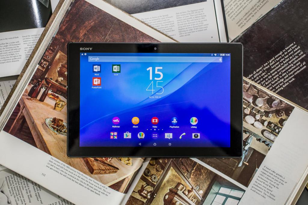 Большой планшет - Sony Xperia Z4 Tablet