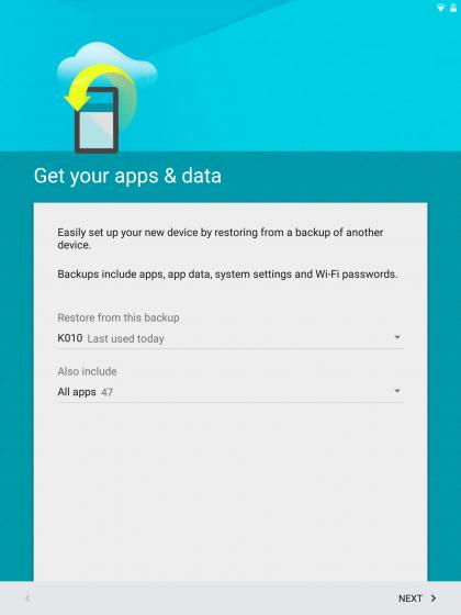 Интерфейс Android 5.0