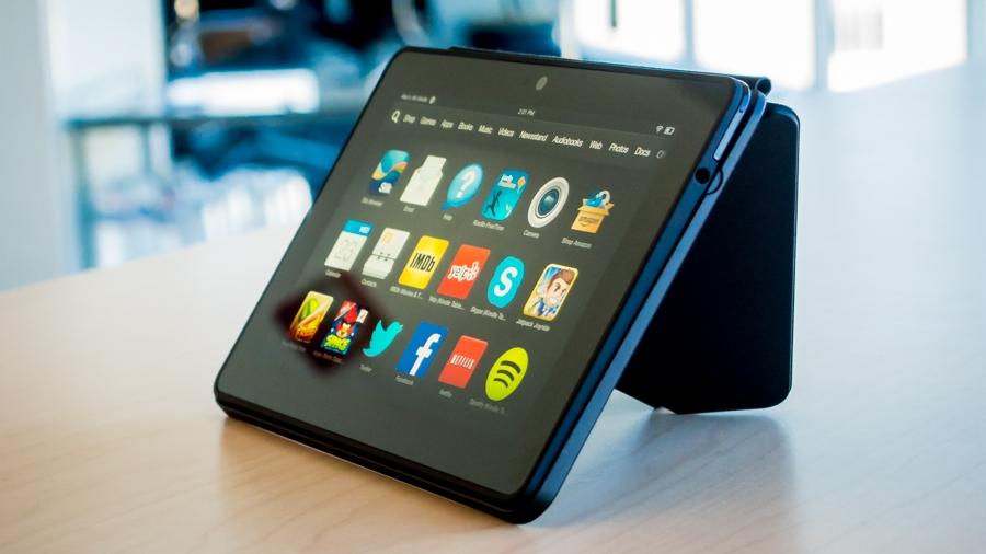 Лучший планшет 2014. Amazon Kindle Fire HDX 7