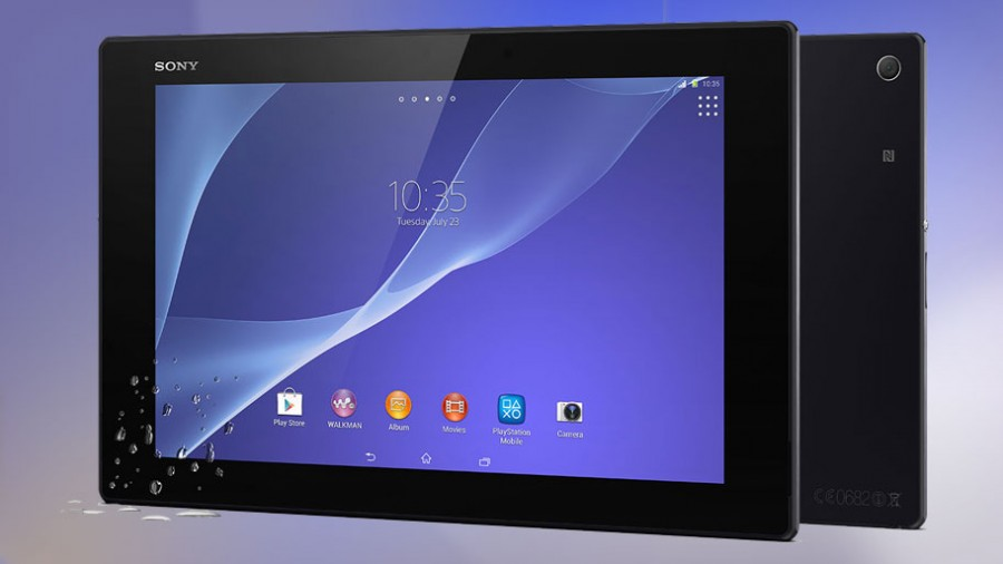 Лучший планшет 2014. Sony Xperia Z2 Tablet
