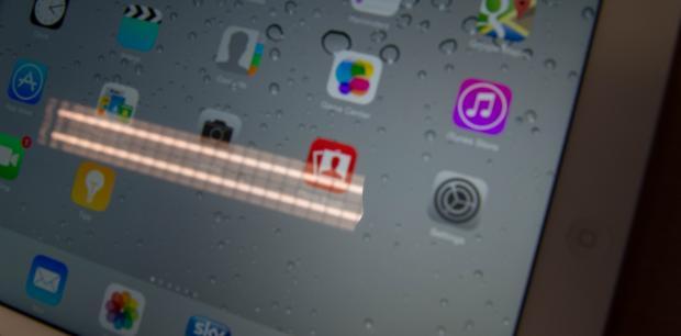 Отражение и блики iPad Air