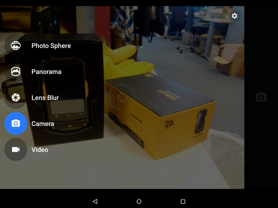Приложение камеры в Android 5