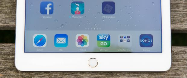 Apple iPad Air 2 и TouchID