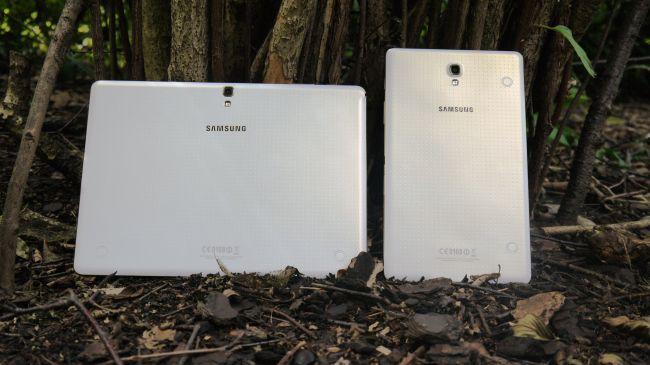 Задние панели Galaxy Tab S