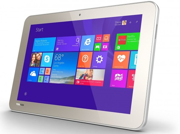 Планшет на Windows 8. Toshiba Encore 2