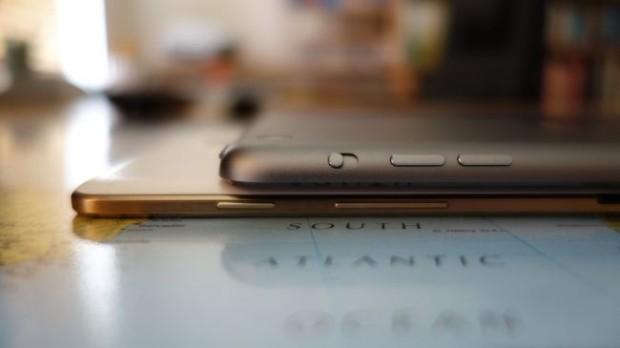 Galaxy Tab S и iPad Mini 2