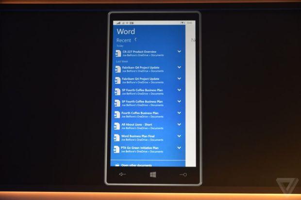 Microsoft Office для планшетов