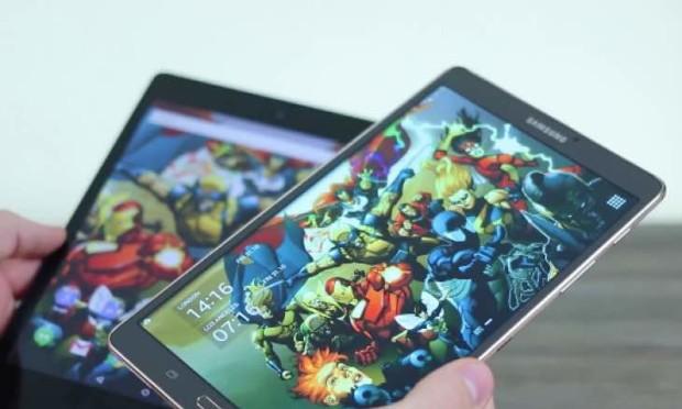 Samsung Galaxy Tab S 8.4 против HTC Nexus 9