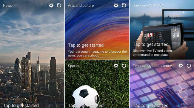 Samsung Journal UI
