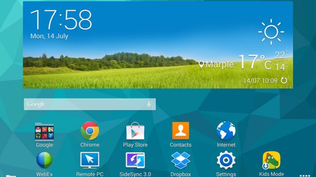 TouchWiz и Android на Galaxy Tab S