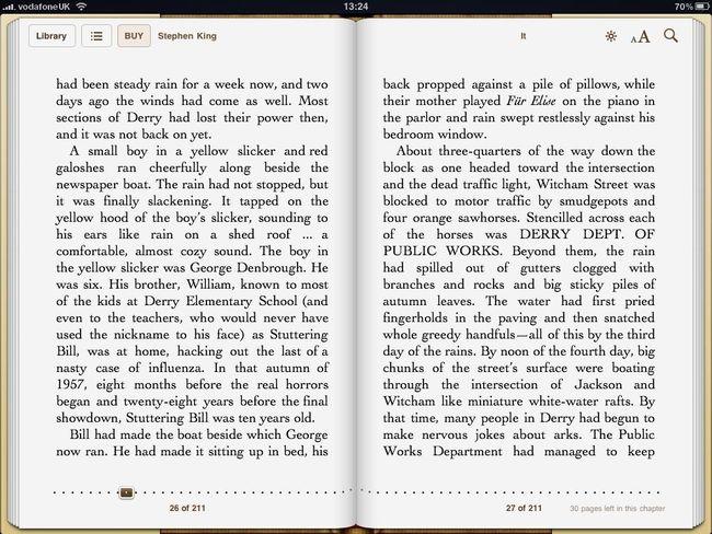 Книги на iPad 3G