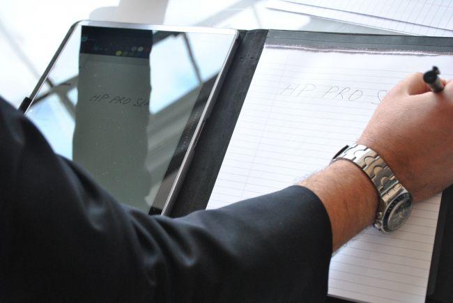 HP Pro Slate 12 и дигитайзер Duet Pen