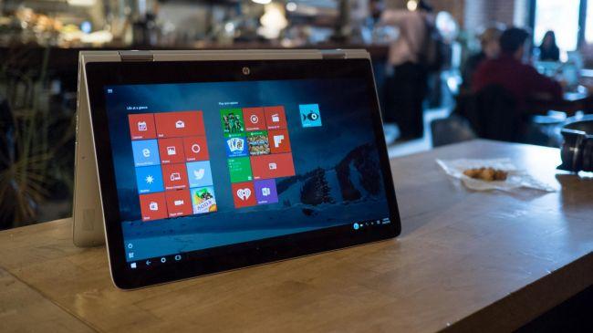Лучшие планшеты 2 в 1 - HP Spectre x360 15