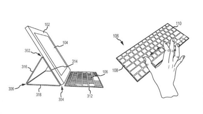 Чертежи клавиатуры iPad Pro
