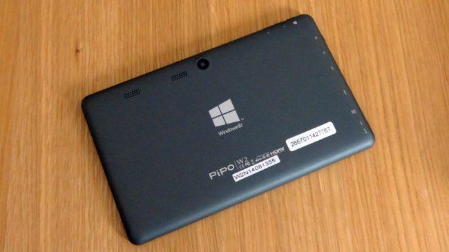 Обзор планшета Pipo W2. Задняя панель