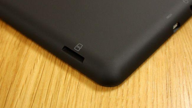 Слот Micro SD на планшете Linx 8