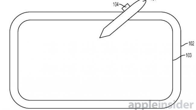 Патент на стилус iPad Pro