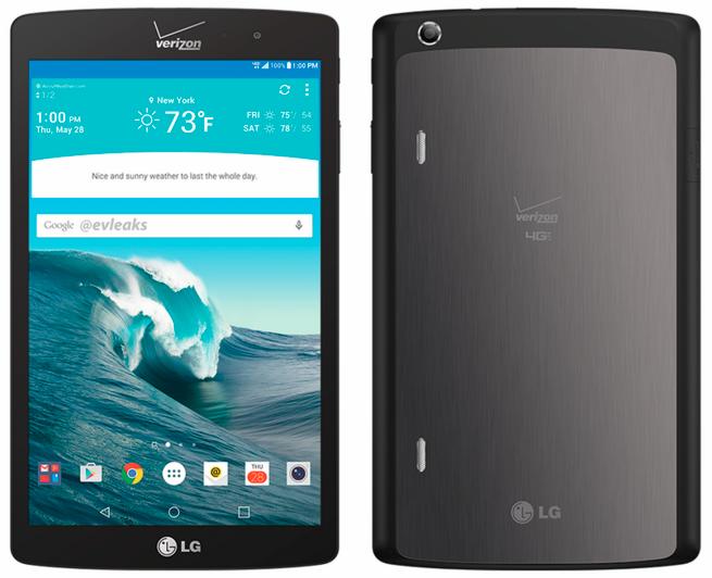 Планшет LG G Pad X от Verizon