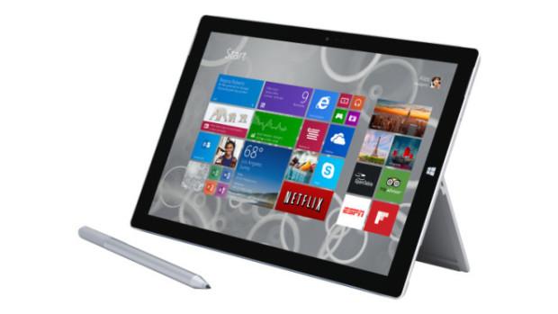 Обновление Microsoft Surface 3