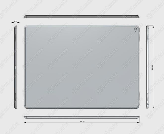 Схематически Apple iPad Pro