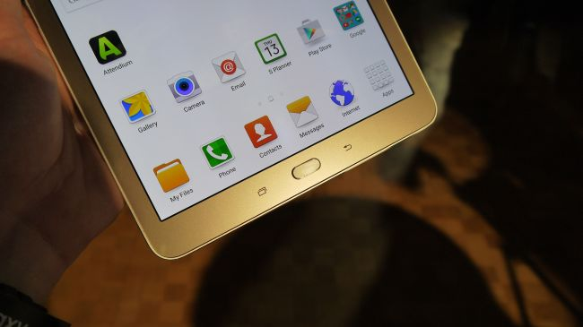 Кнопки Galaxy Tab S2