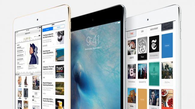 Дизайн iPad Mini 4