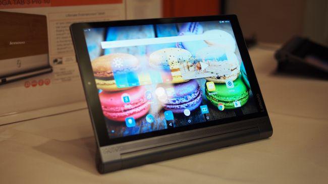 Предварительный обзор Lenovo Yoga Tablet 3 Pro