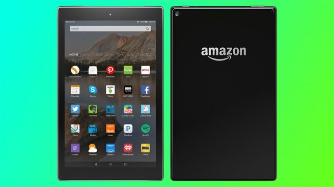 10-дюймовый Amazon Kindle Fire 2015