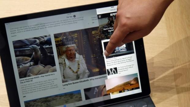 Начало продаж iPad Pro