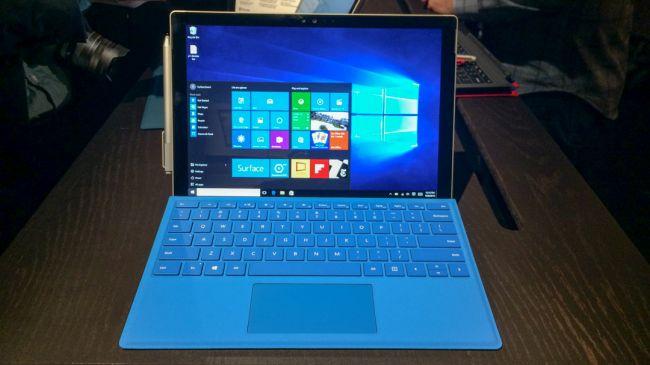 Предварительный обзор Surface Pro 4
