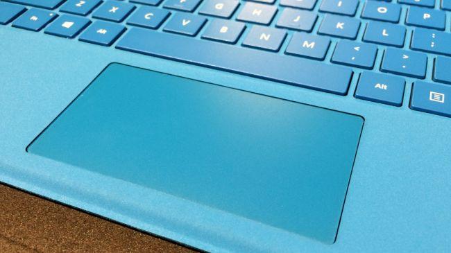 Трекпад Type Cover на Surface Pro 4